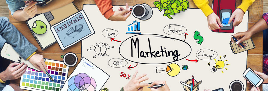 le marketing web