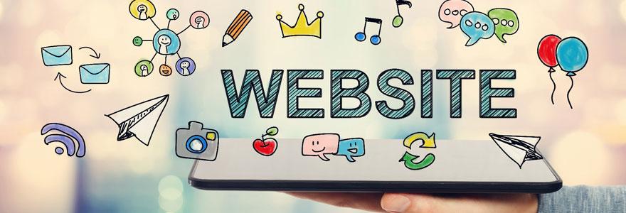 Créer votre site web